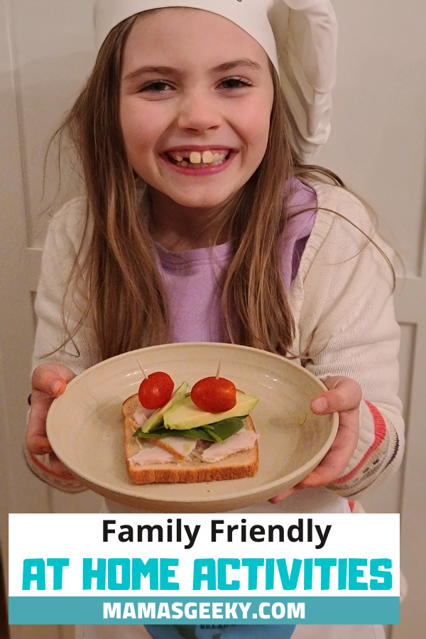 family friendly at home activities