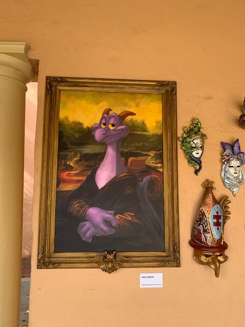 Figment painting Italy