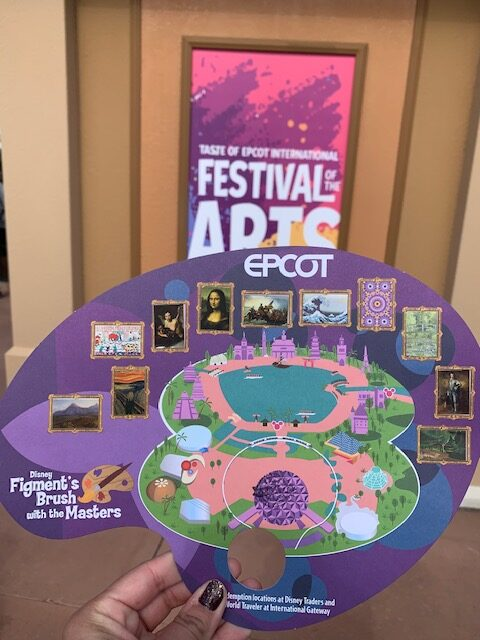 Figment's Brush with the Masters complete map