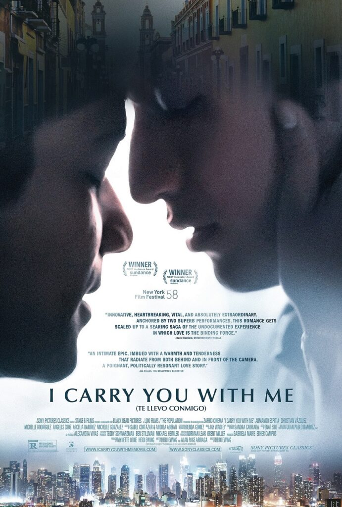 i carry you with me poster