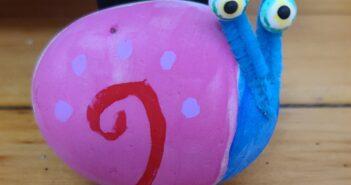 gary the snail rock craft