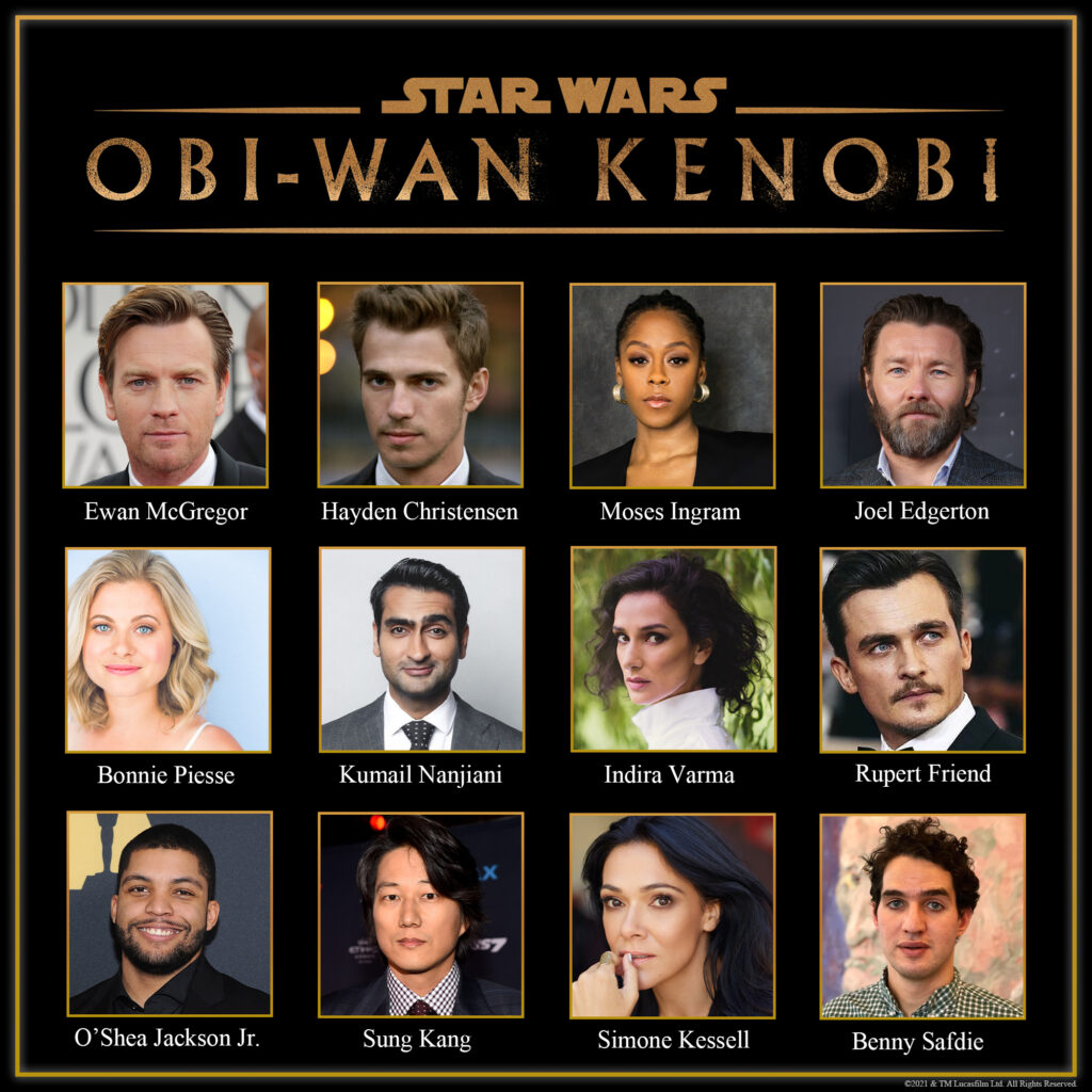 Obi-Wan Kenobi Cast Announcement