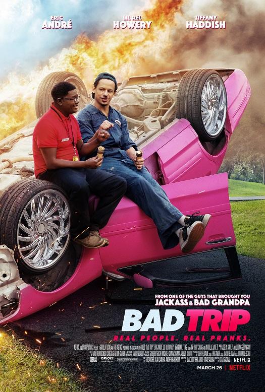 Bad trip Netflix movie poster