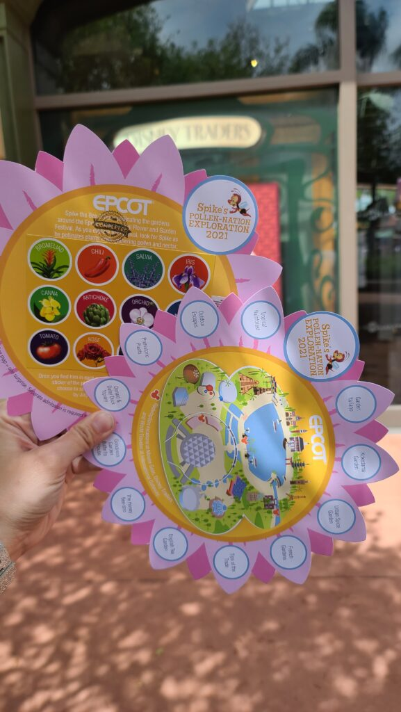 Spike's Pollen-Nation Exploration Epcot Flower & Garden Hunt 2021