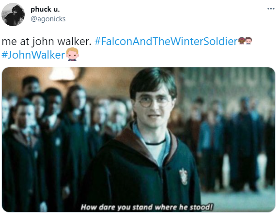 john walker harry potter meme