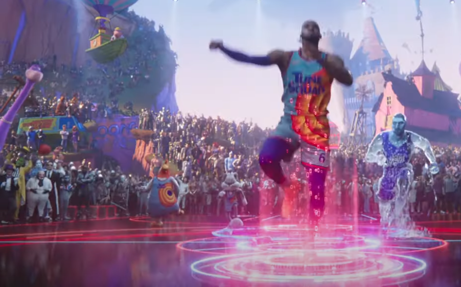 characters in space jam a new legacy trailer