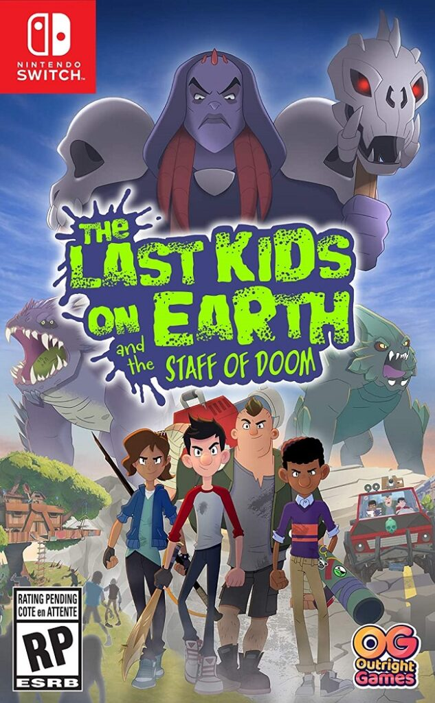 the last kids on earth and the staff of doom game review