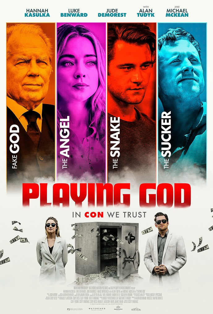 playing God 2021 movie poster