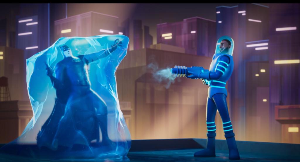 space jam lebron as mr freeze