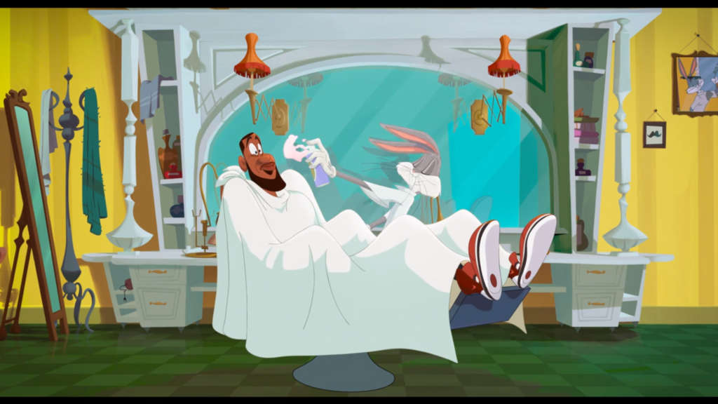 space jam looney tunes easter egg gags