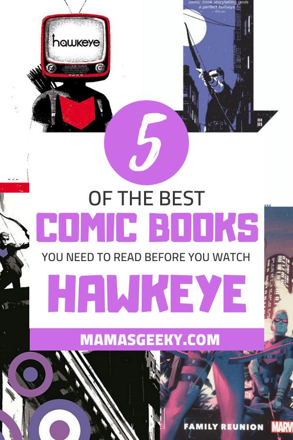 hawkeye comic books
