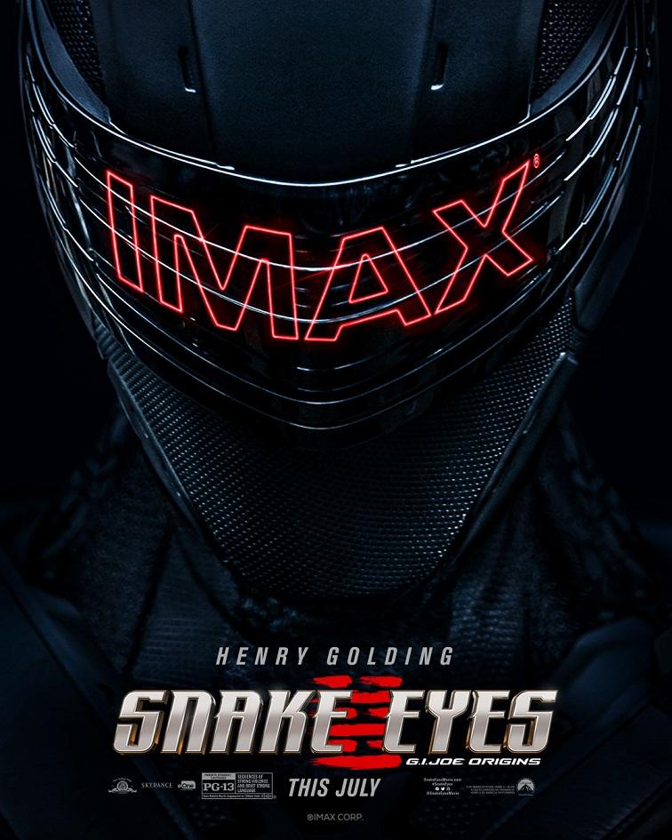 snake eyes imax poster