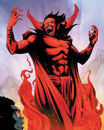 Mephisto Marvel comics Spider-Man