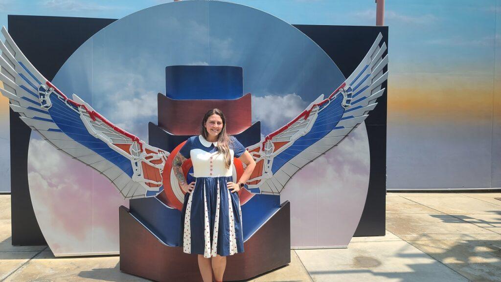 Avengers Campus Captain America Sam Wilson