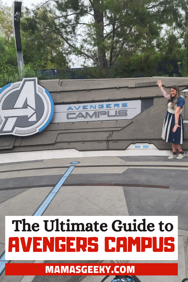 guide to avengers campus