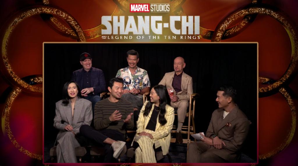 shang-chi press conference