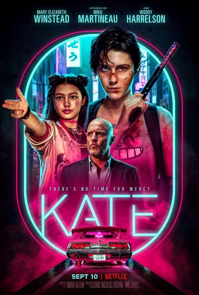 Kate Netflix Movie poster