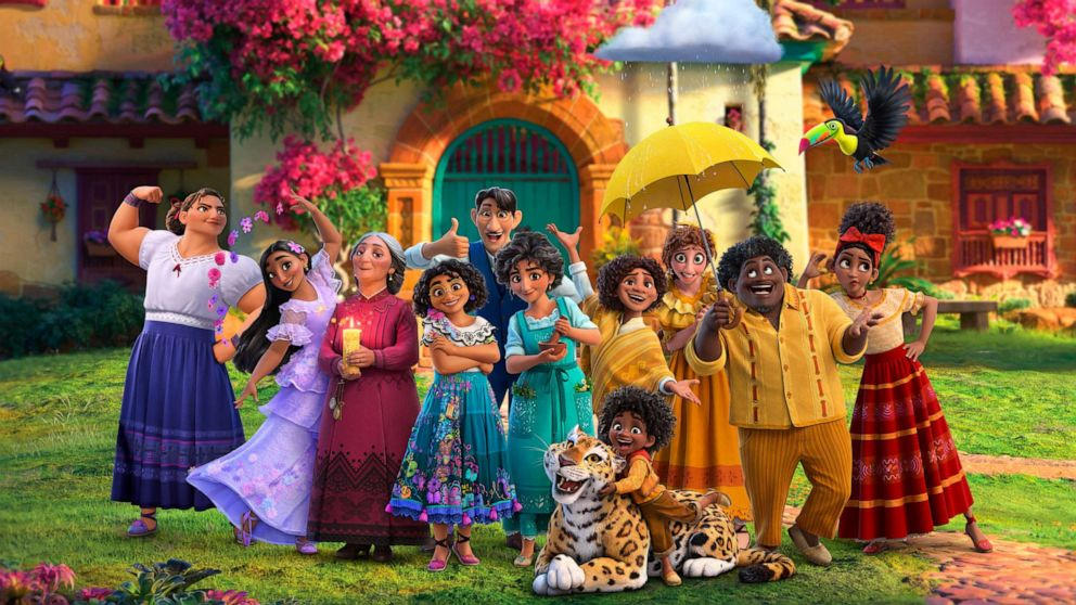 Disney Encanto family