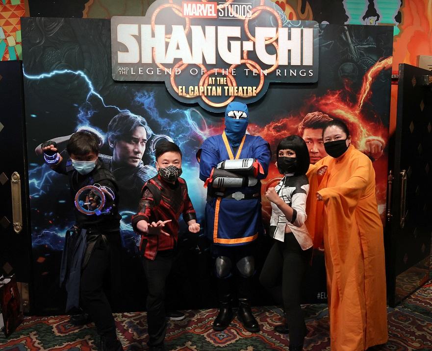 Destin Daniel Cretton surprises fans at shang-chi opening night showing