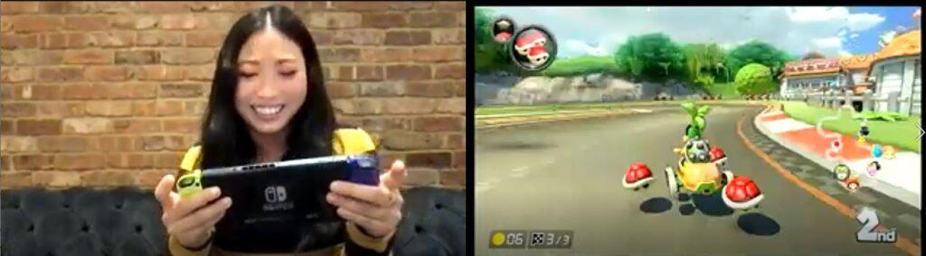 Awkwafina Mario Kart