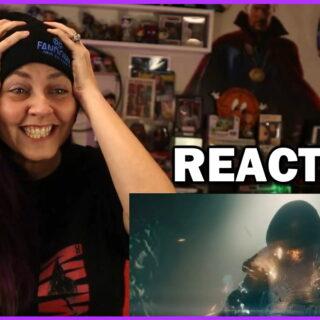 black Adam DC FanDome Suit Reveal Reaction