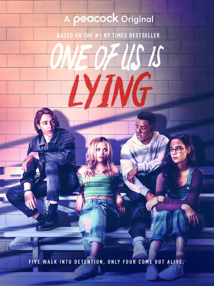 One Of Us Is Lying poster