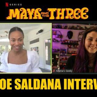 maya and the three zoe saldana